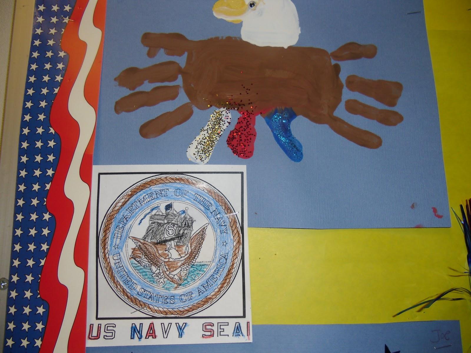 The Bulletin Board Looks Greatso Patriotic