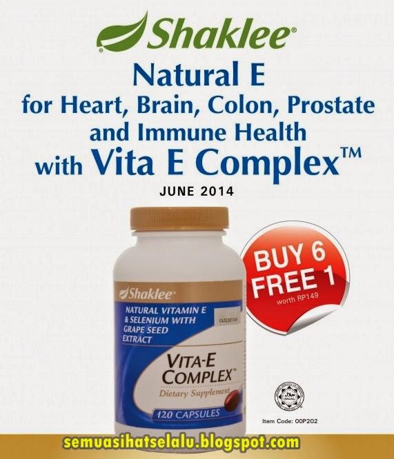 Promosi Bulanan Vitamin E