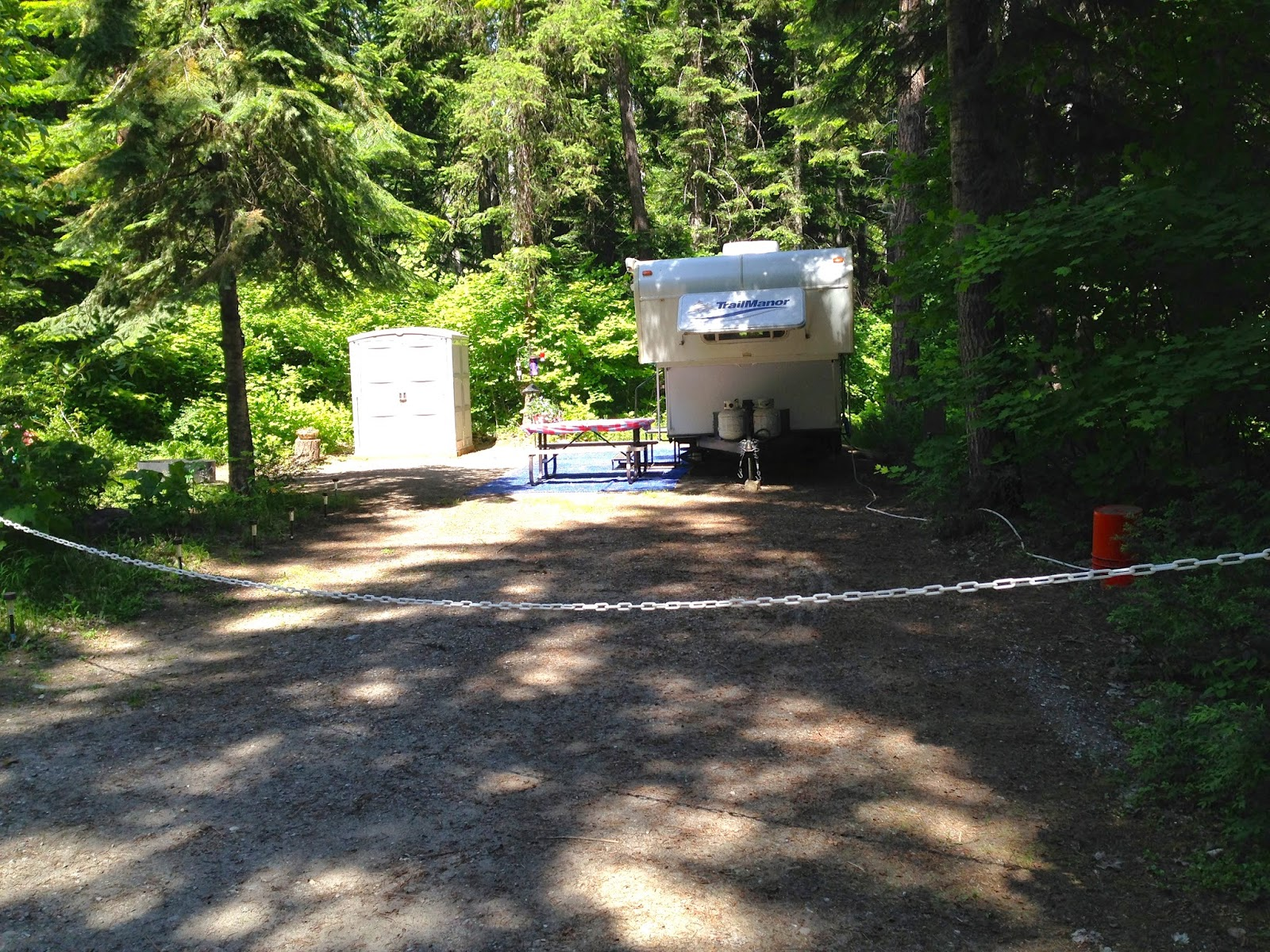 Diary Of A Pair Of Rv Virgins Thousand Trails Leavenworth