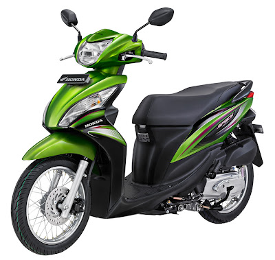 2011 Honda Spacy Sporty Scooter Matic