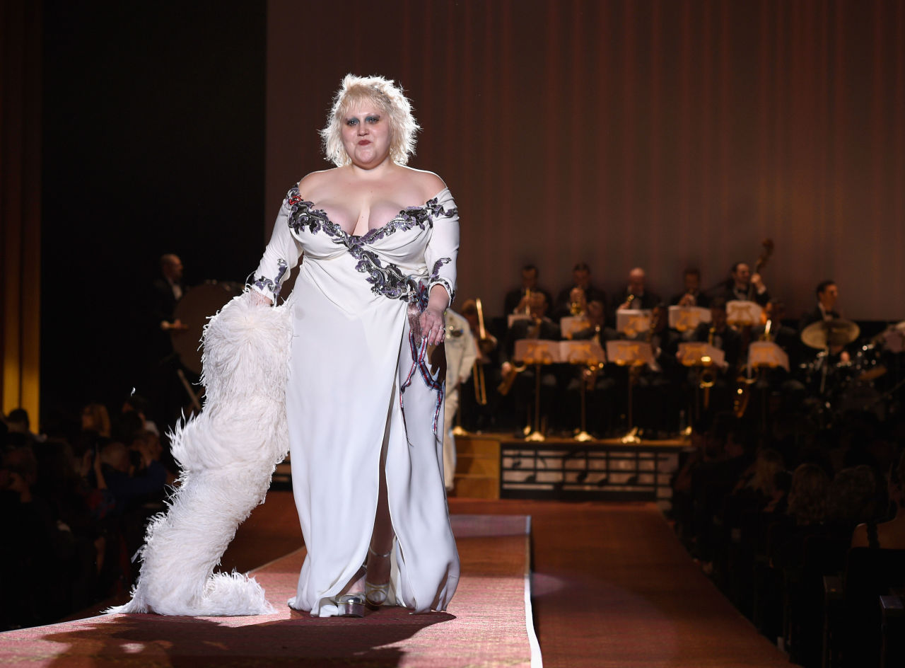 Eniwhere Fashion - Marc Jacobs - Beth Ditto - Spring/Summer 2016