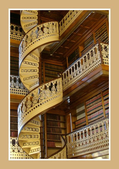 Amazing library staircase and balcony surrounds content for Balcony surrounds