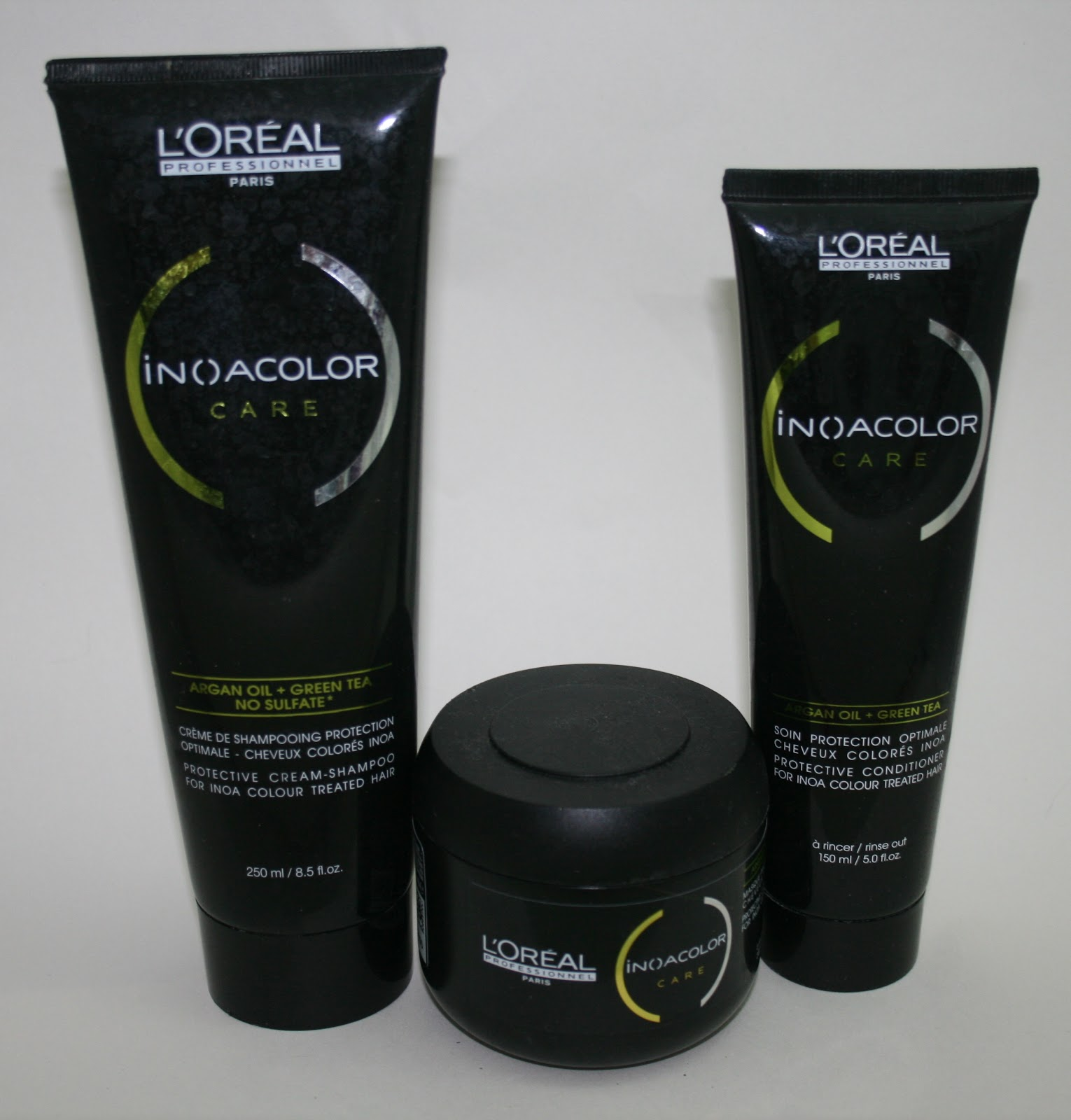 Loreal Inoa Colour Care Shampoo Conditioner And Masque Beauty