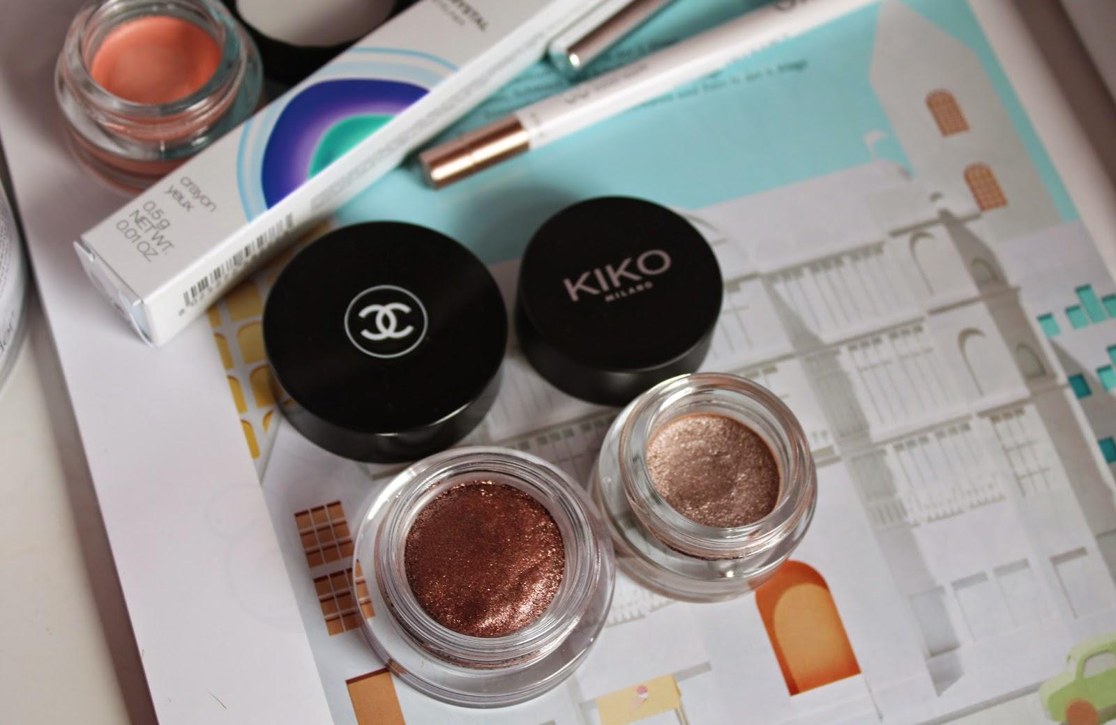 Chanel, Kiko cream eyeshadows
