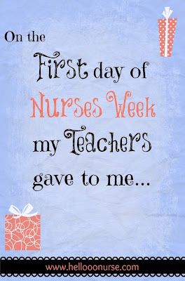 Nurses week, nursing student, nursing school, presents, nurse, professors, gifts, humor
