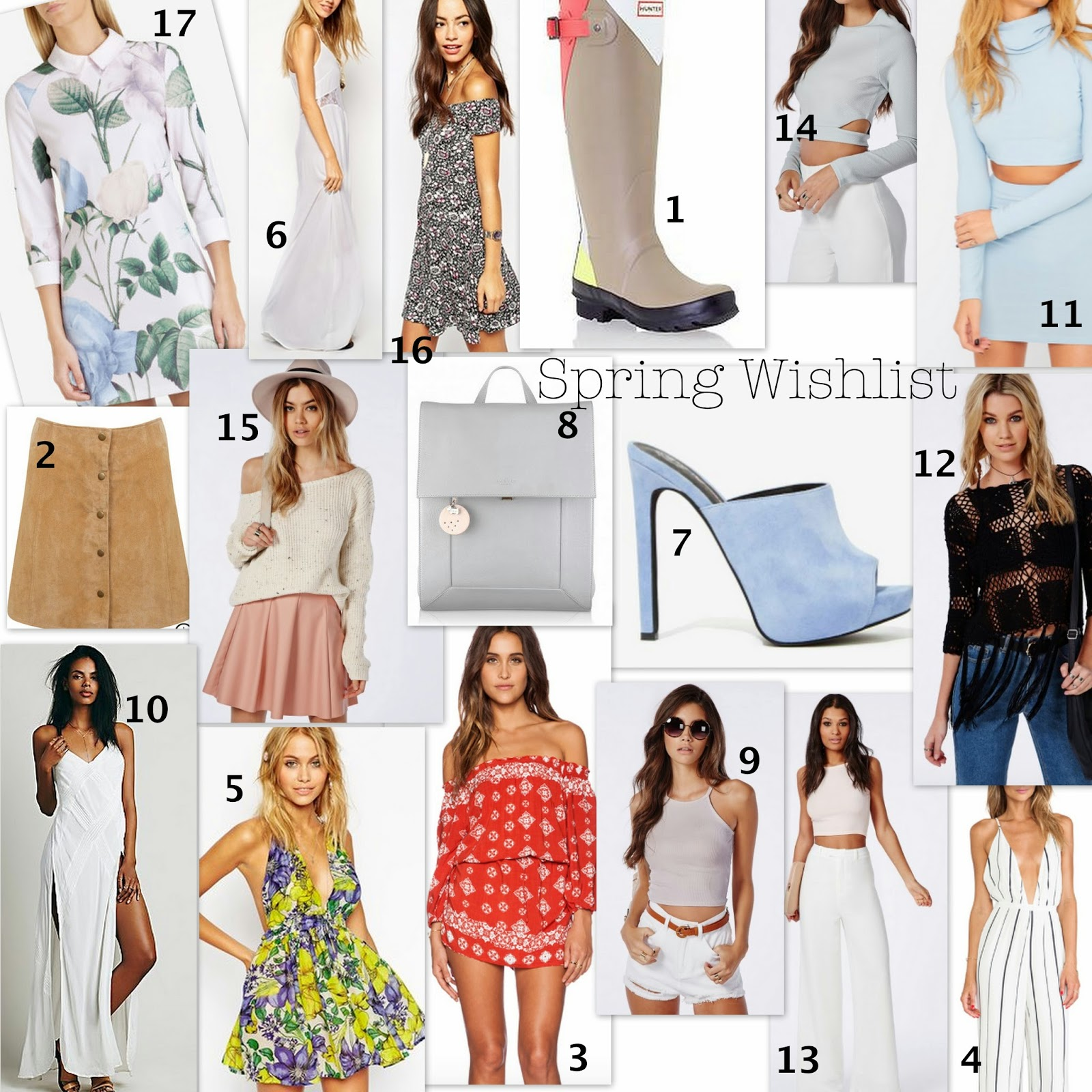 Spring fashion inspiration