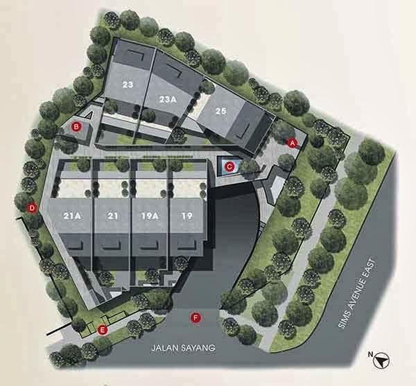 Terra Villas Siteplan