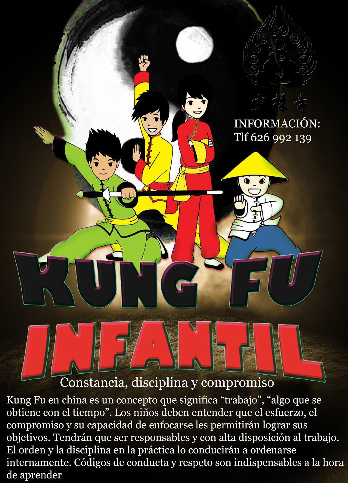 Kung-Fu Madrid Shaolin - Cursos y Clases Niñas y Niños. Infórmate ahora mismo Tlf: 626992139