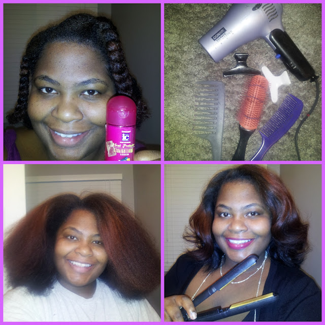 Curly Hair Gone Straight A Simple How To Seeing It Their Way