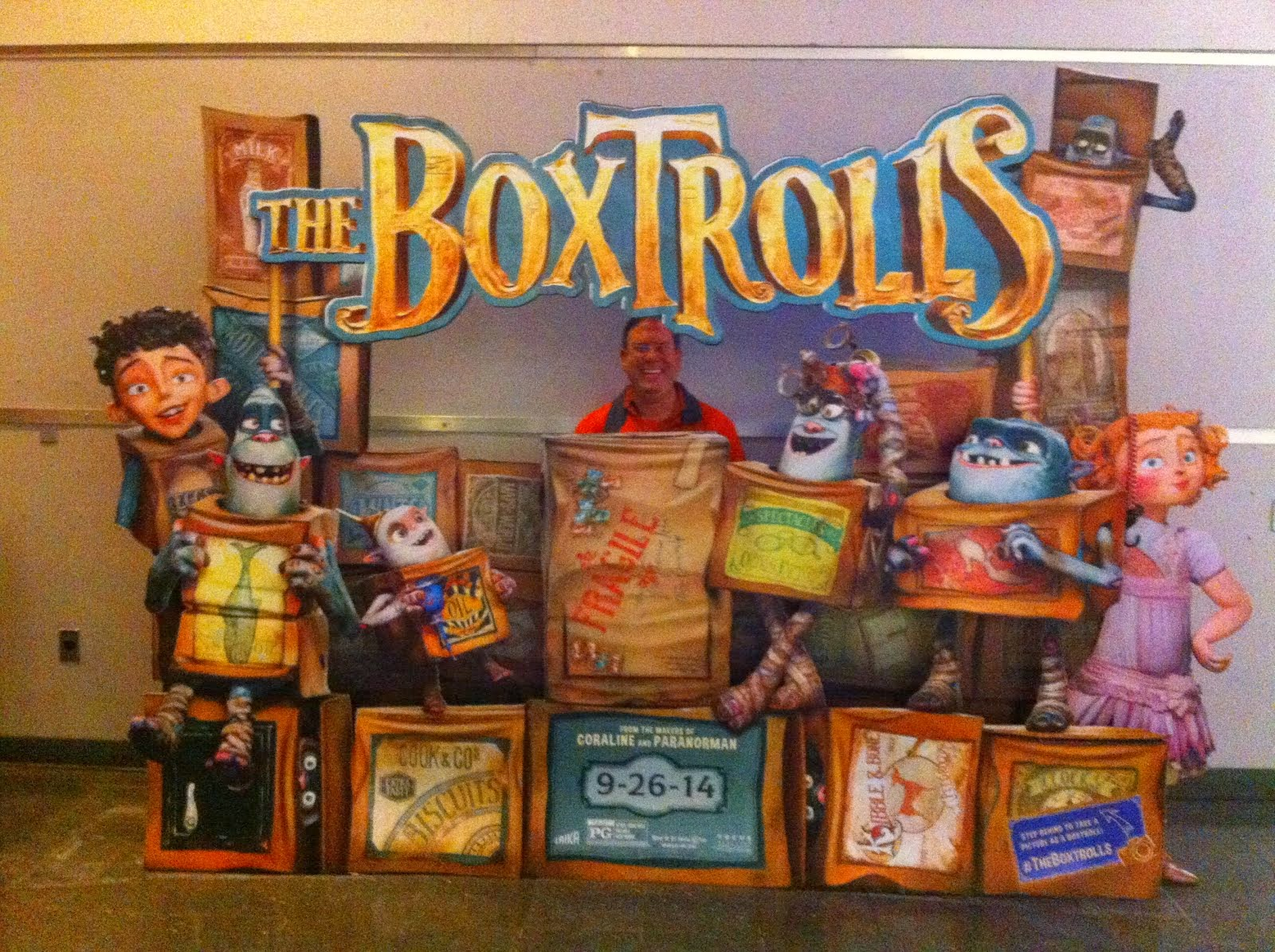 The BoxTrolls BluRay combo pack giveaway
