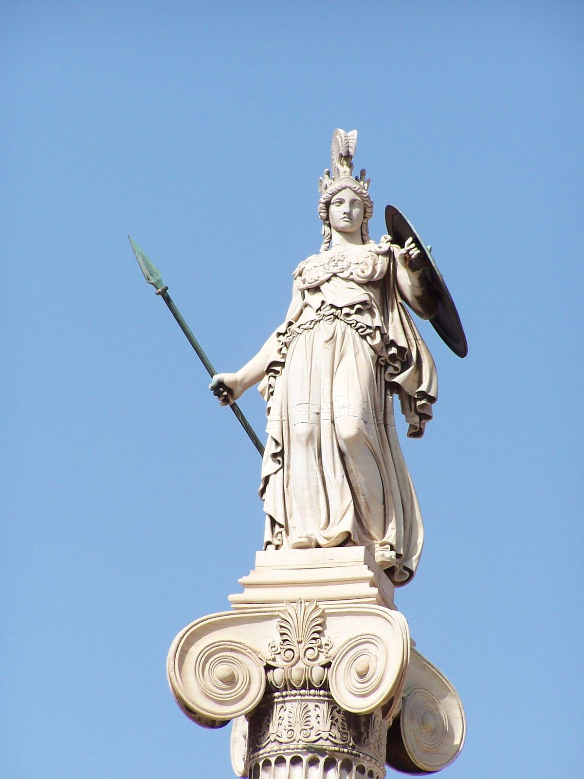 Os 12 Deuses Do Olimpo... Zeus Statue Wallpaper
