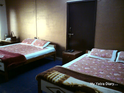 Room of Jamuna Mahal Hotel, Budget Hotel - Mathura