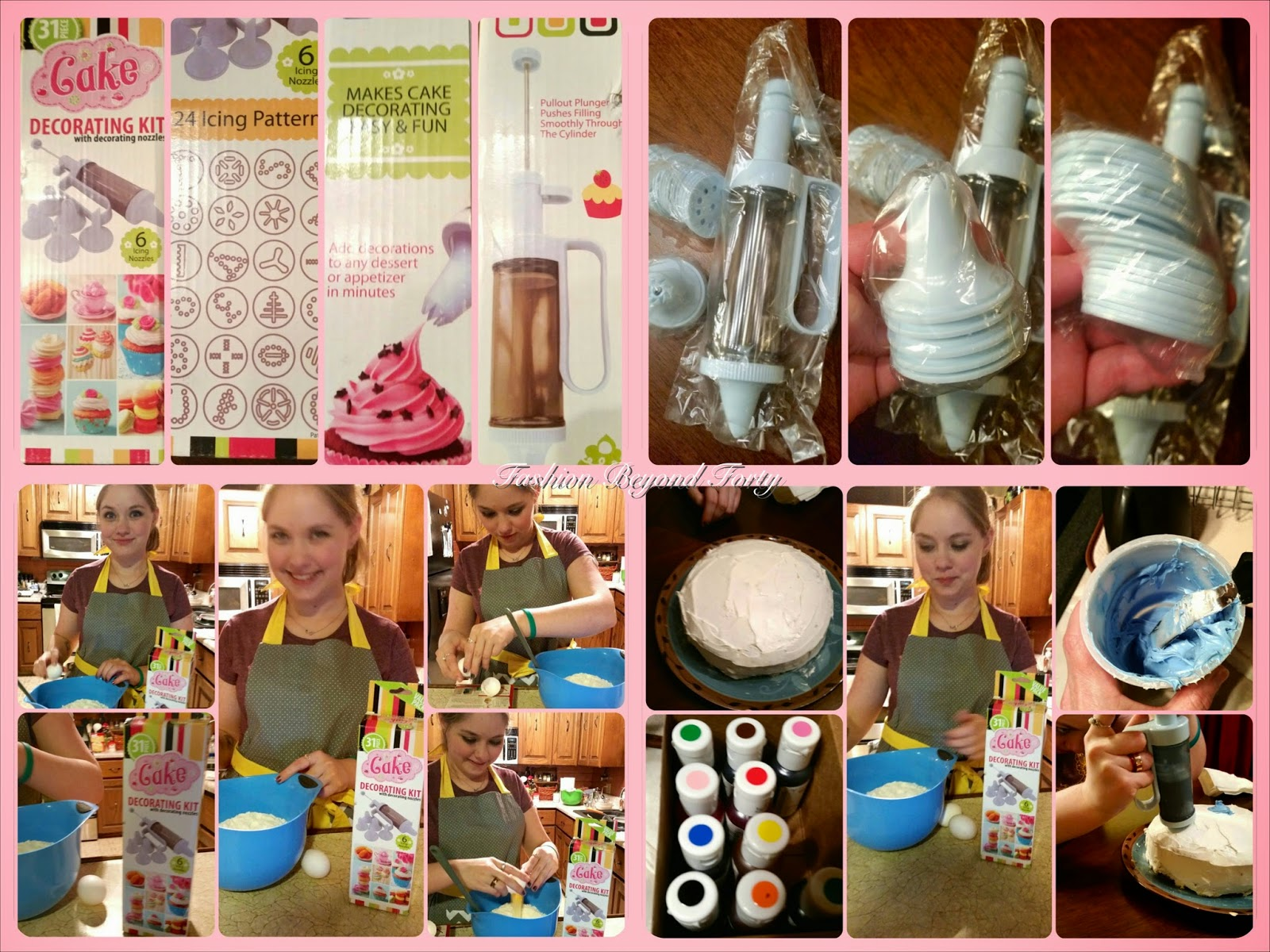 Cake Decorating Kit: 31 Nozzles 6 Tips Product Review
