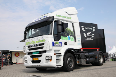 videos de camiones iveco stralis LNG gas natural 2