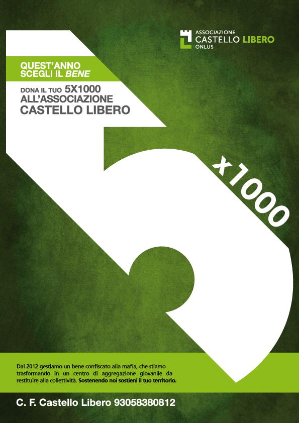 Campagna 5x1000 Castello Libero