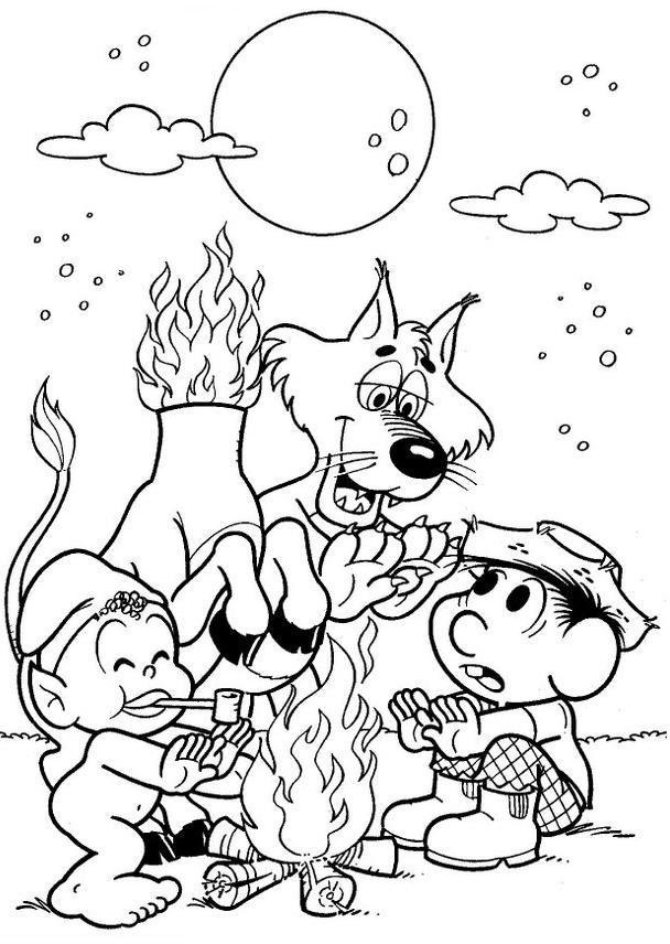 43 atividades folclore turma da m u00d4nica desenhos exerc u00cdcios