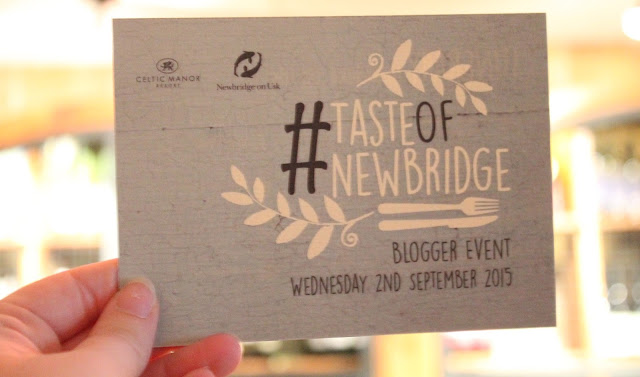 Taste of Newbridge Blogger Event