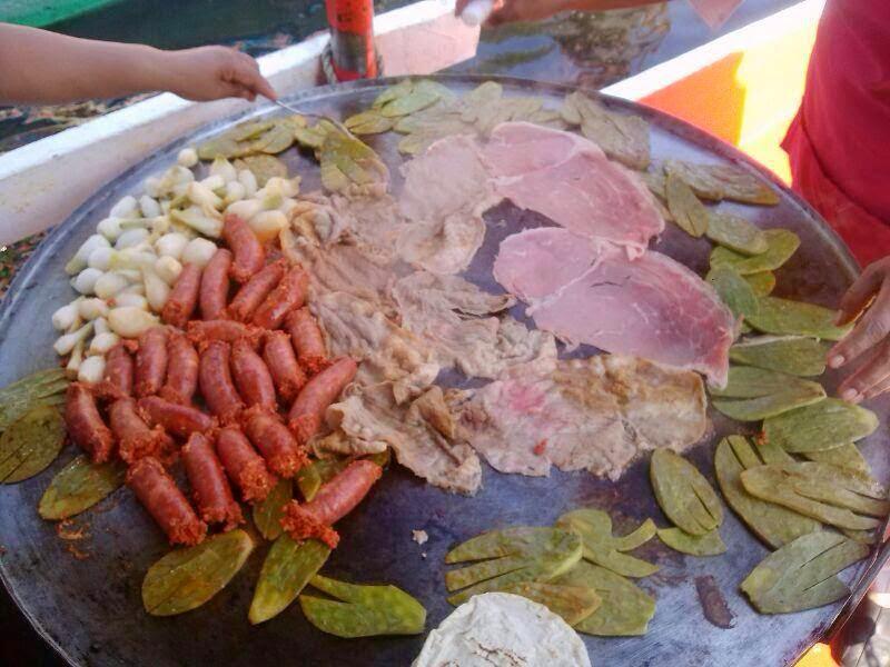 Gastronomía típica de xochimilco