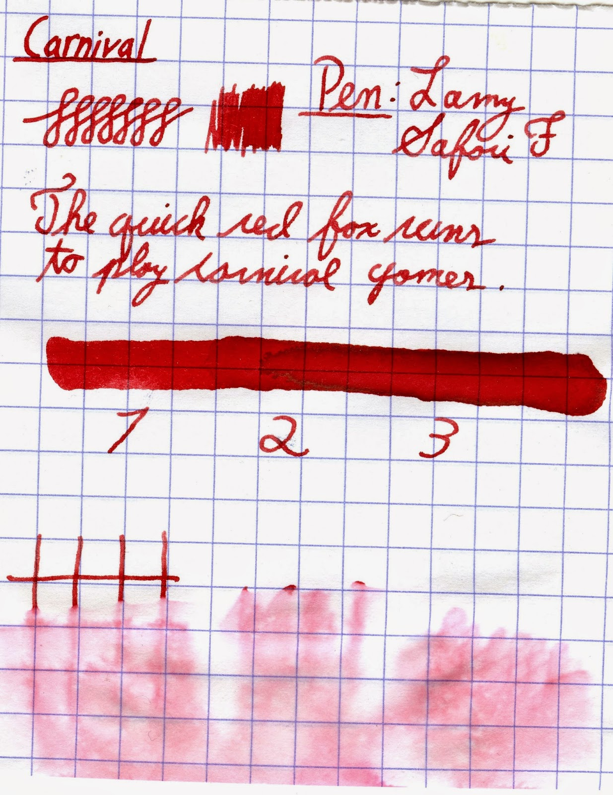 Diamine 150th Anniversary Inks Overview - Carnival