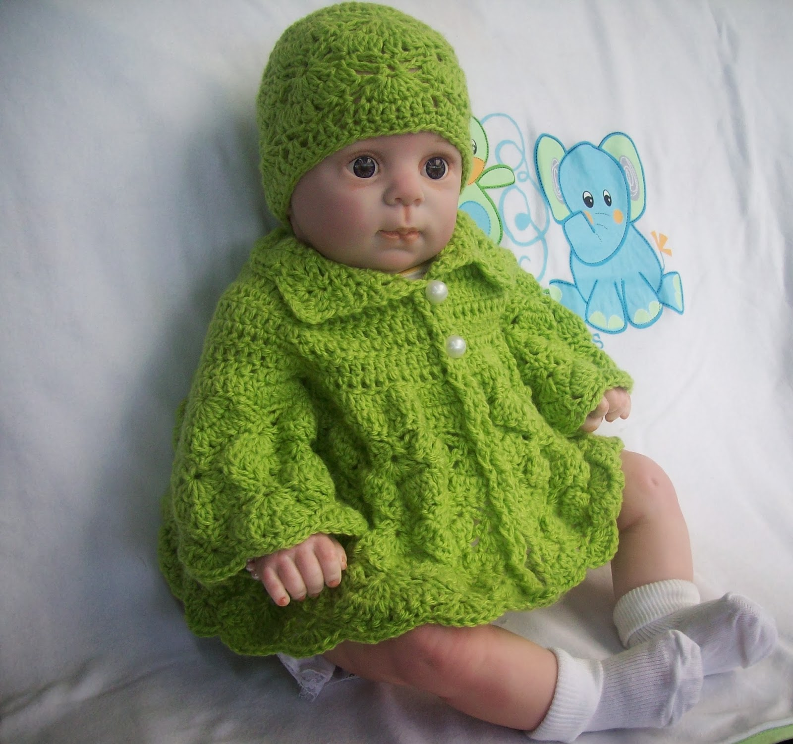 Crochet Baby Hat And Sweater Pattern : Free Crochet Patterns By Cats-Rockin-Crochet
