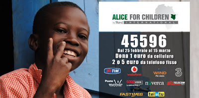 SMS solidale di Alice for Children