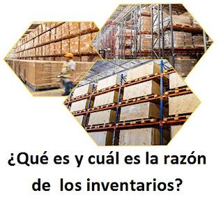 ¿Qué es y cuál es la razón de  los inventarios?