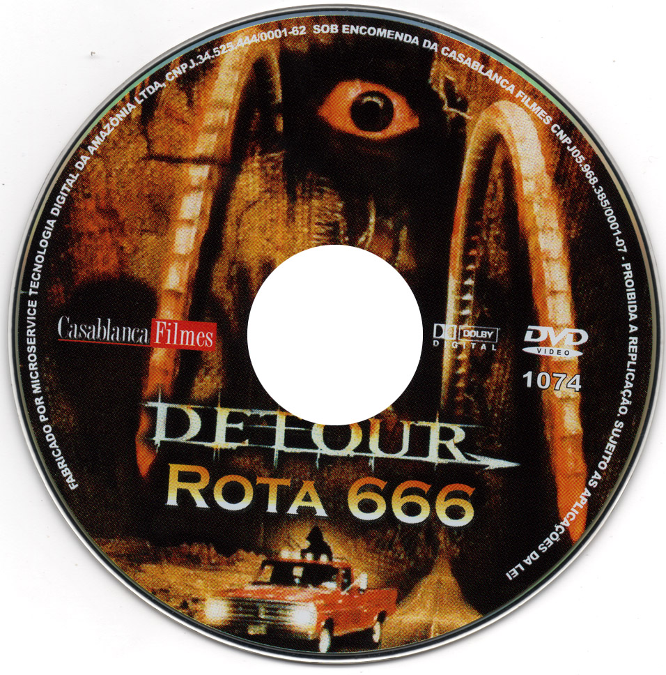Label DVD Detour Rota 666