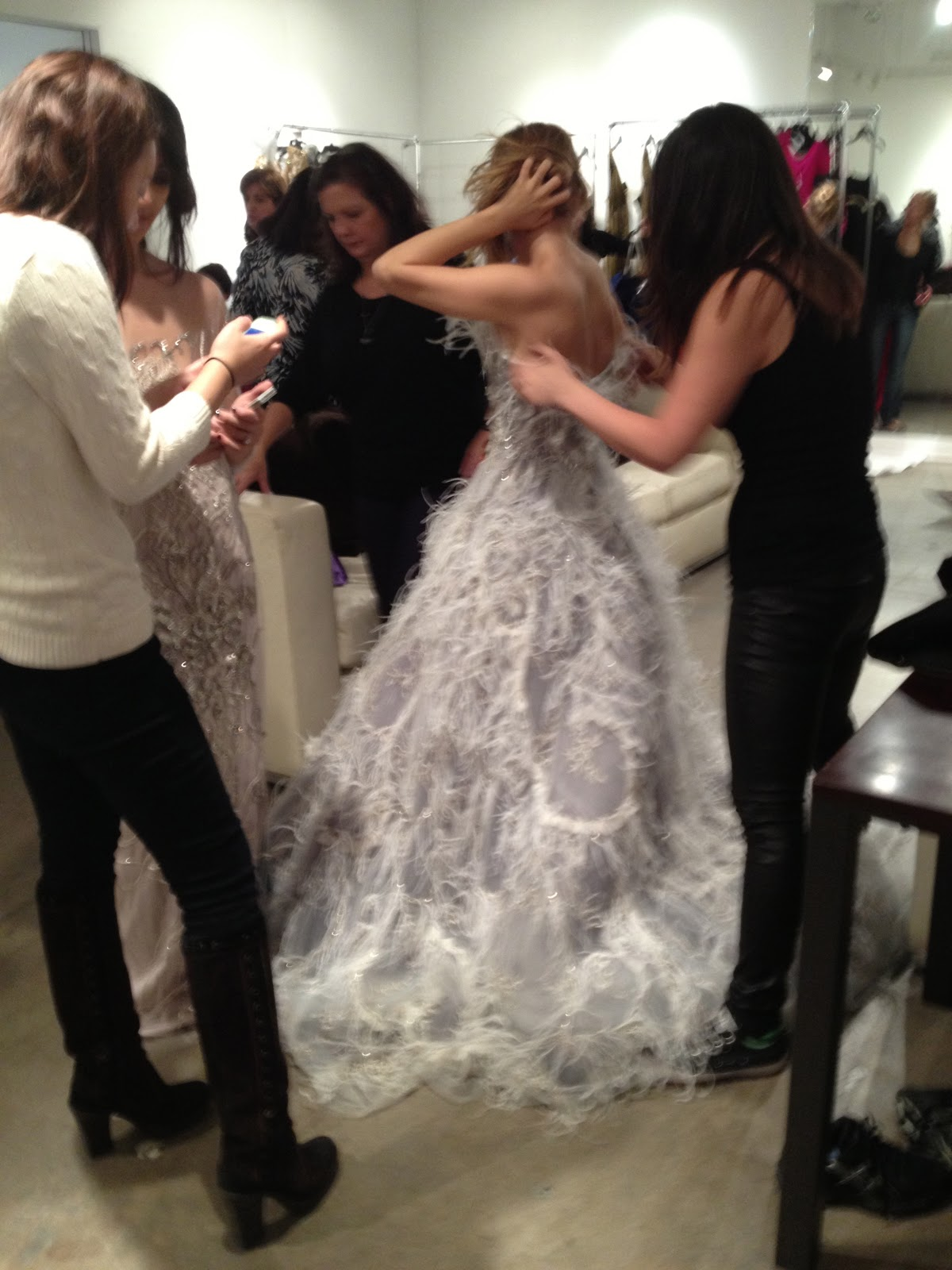 New York à la Keiko: In pictures: Marchesa Sample Sale [December ...