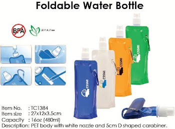 CENTRUM LINK - FOLDABLE WATER BOTTLE