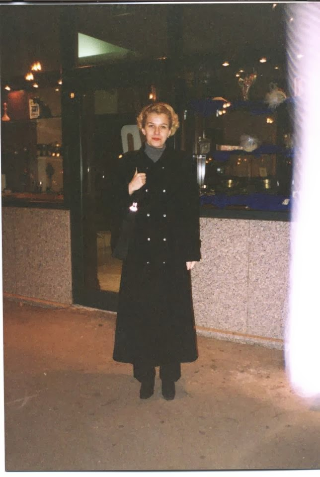 Olivia Maria Marcov, decembrie 2000 la Bucuresti