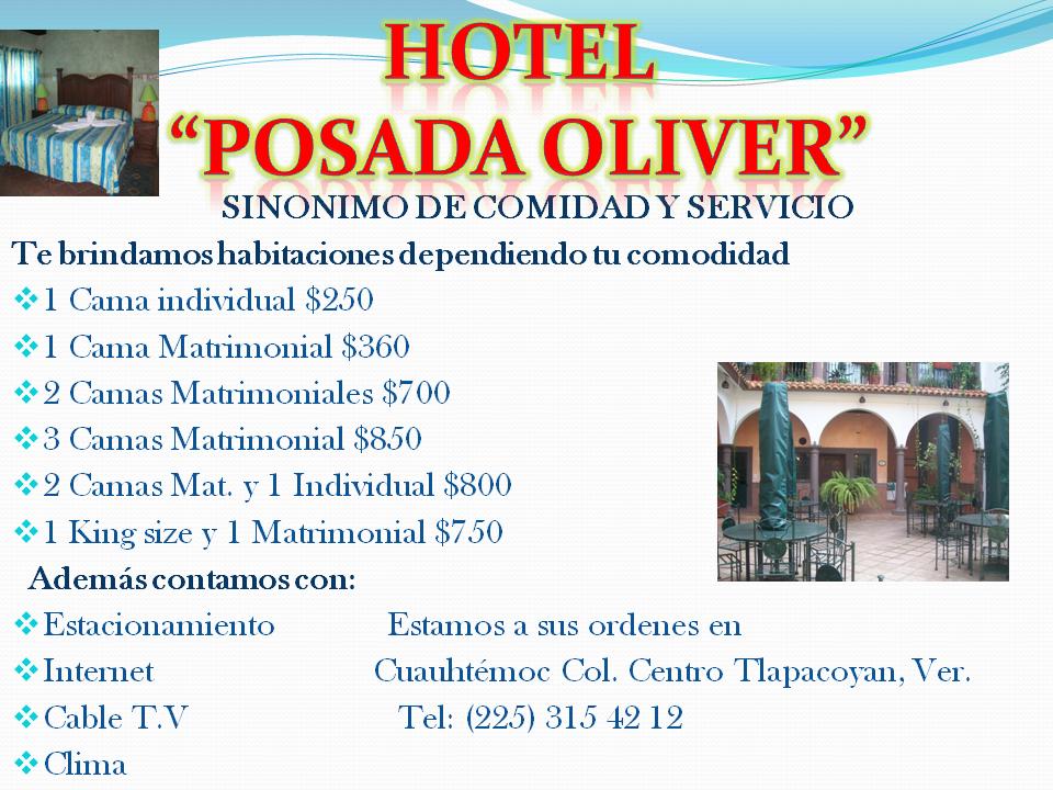 """Hotel """"Posada Oliver"""""""