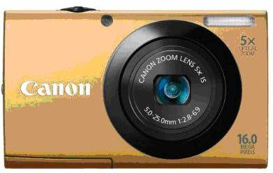 Canon PowerShot A3400 IS Gold Color