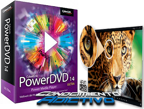 CyberLink PowerDVD Ultra v.14.0.3917.58 - Universal player for all your media !