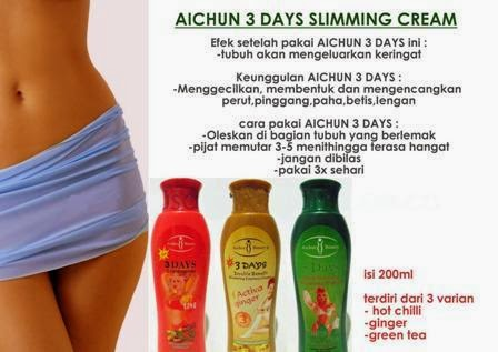 GEL PELANGSING MODERN-AICHUN 3 DAYS « Skin Care Cosmetic ...