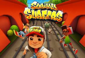 لعبة صب واى Subway surfers اون لاين