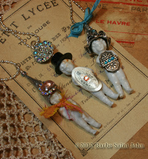Altered Doll Necklace Class by Barbe Saint John