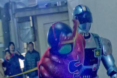 WOW!! Kamen Rider Jadi Tersangka