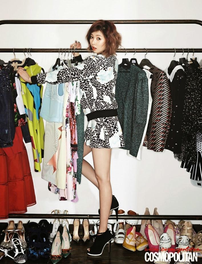 Hyuna - Cosmopolitan March 2014
