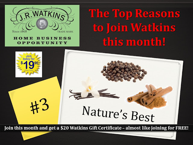 start Watkins home business Canada USA