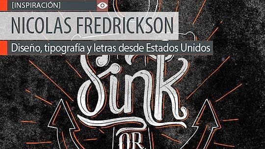 Diseño, tipografía y letras de NICOLAS FREDRICKSON