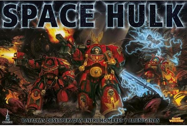 Portada de la tercera edición de Space Hulk en castellano