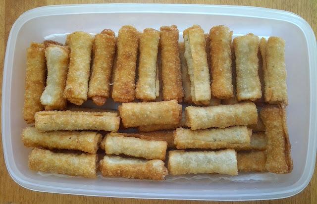mini spring rolls