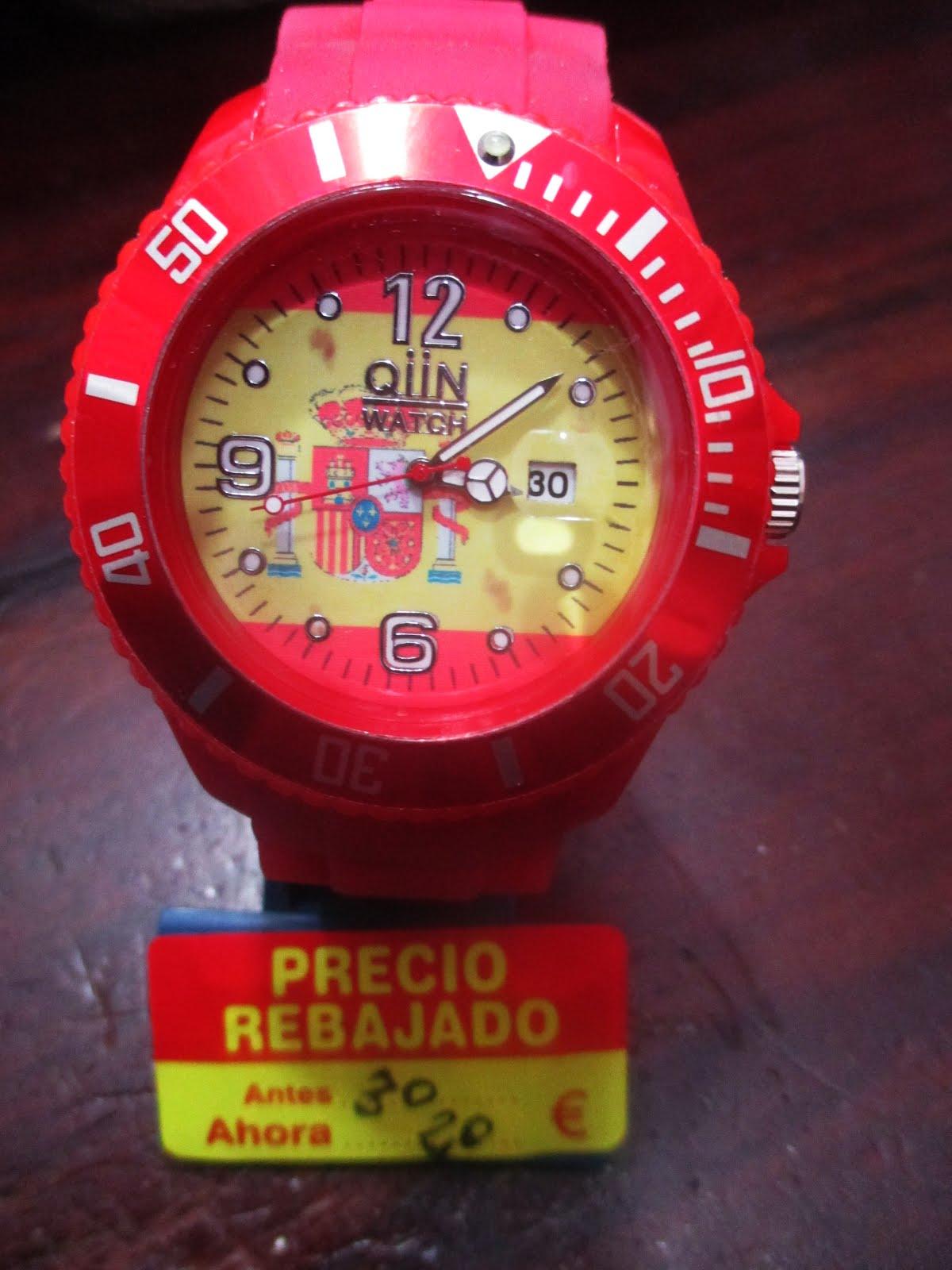 Reloj Bandera Española