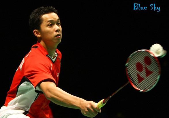 Foto Taufik Hidayat - Atlet Bulu Tangkis Indonesia | Saraung Blue Sky