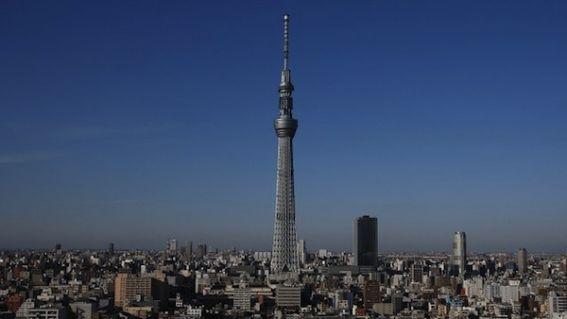 Inaugura no Japão a torre mais alta do mundo, a Tokio Sky Tree, tem 634 metros de altura