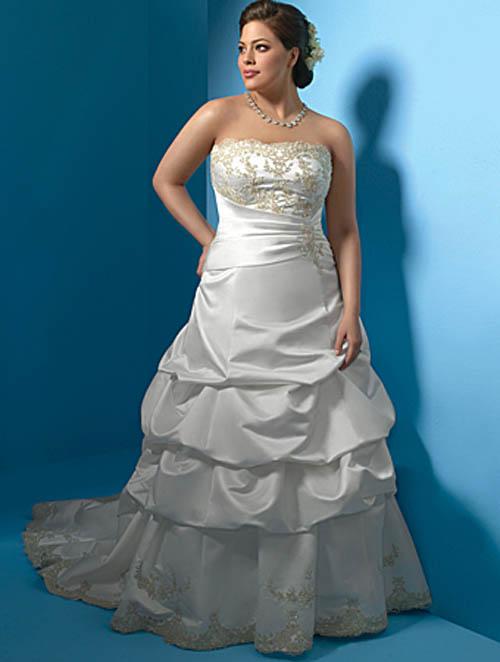 Plus size short wedding dresses celebrity tattoos for Super plus size wedding dresses