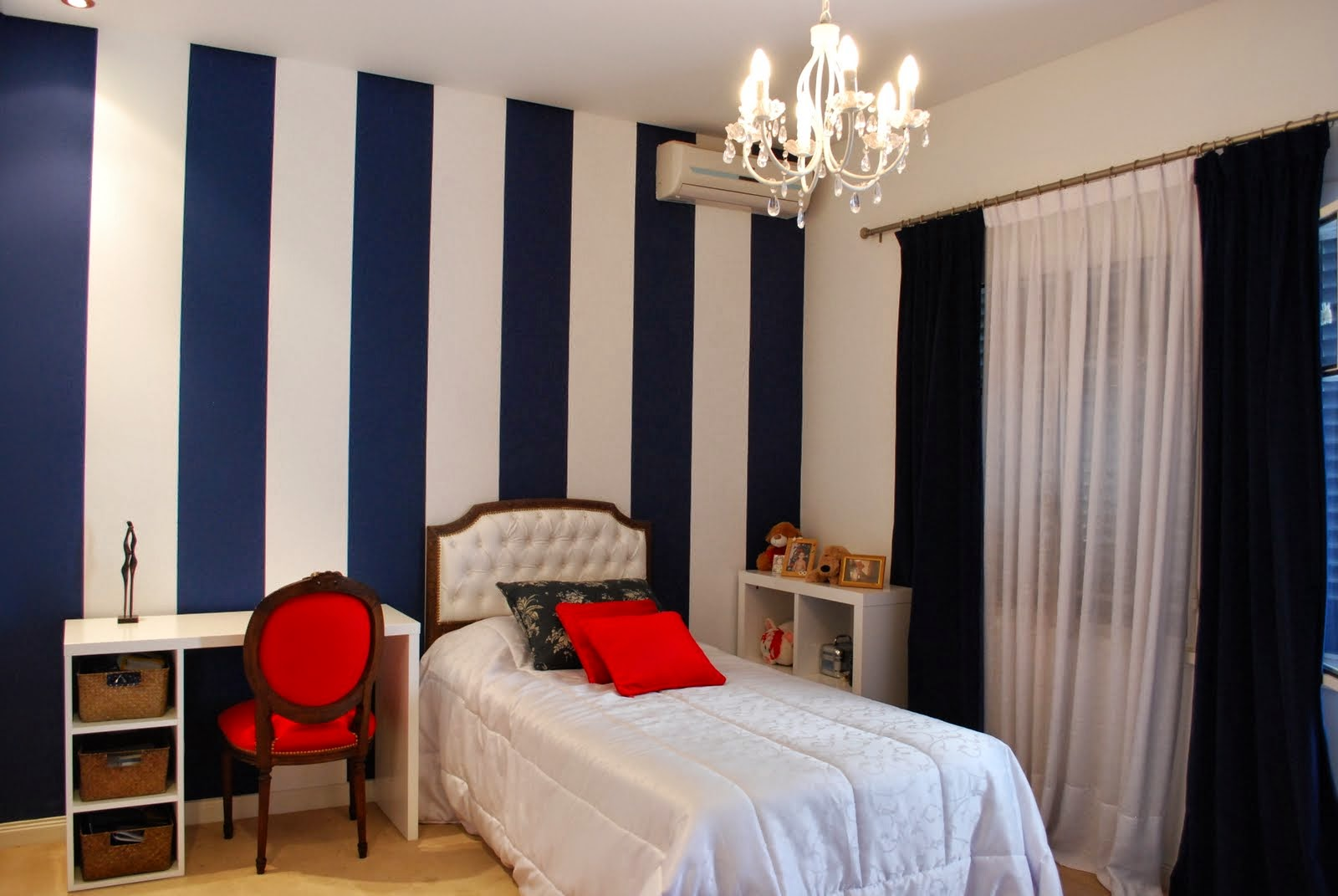 Rayas verticales o rayas horizontales para la pared - Pintar paredes a rayas horizontales ...