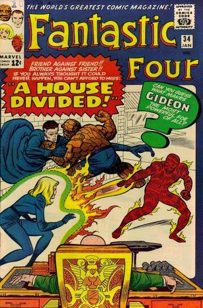 Fantastic Four #34, Gideon