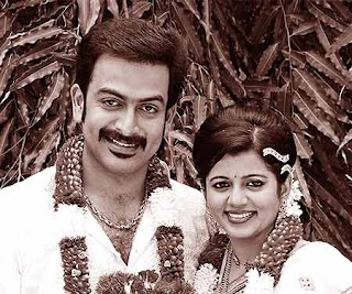 Prithviraj married Supriya Menon