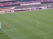 Morumbi Stadium after the game. Neymar in the blue